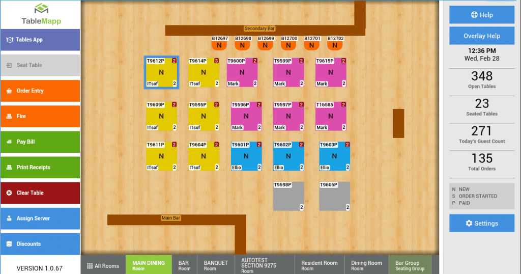 Seed TableMap